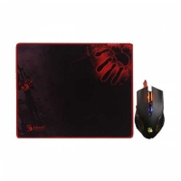 A4 Tech Bloody Q8181S Gaming Mouse & Mouse Pad