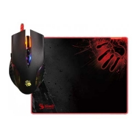 A4 Tech Q5081S Gaming Mouse & Mouse Pad