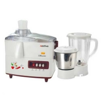 Activa Desire Juicer Mixer Grinder White and Maroon