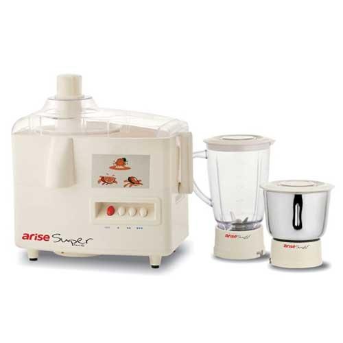Arise Super Plus Juicer Mixer Grinder Off White