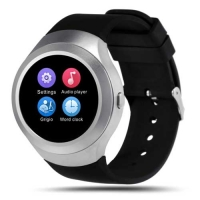 Bingo C5 Silver Bluetooth Smart Watch
