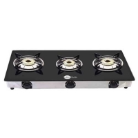Black Pearl Excel 3 Burner Manual Gas Burner