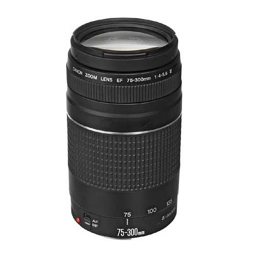 Canon EF 75-300mm F4-5.6 III Camera Lens