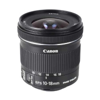 Canon EF-S 10-18mm f/4.5-5.6 IS STM Camera Lens