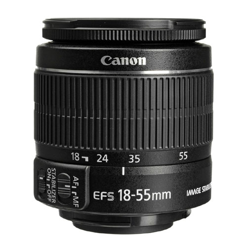 Canon EF-S 18-55mm F3.5-5.6 IS II Camera Lens