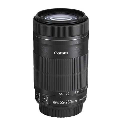 Canon EF-S 55-250mm F4-5.6 IS STM Camera Lens