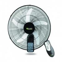 Click Remote Control Wall Fan