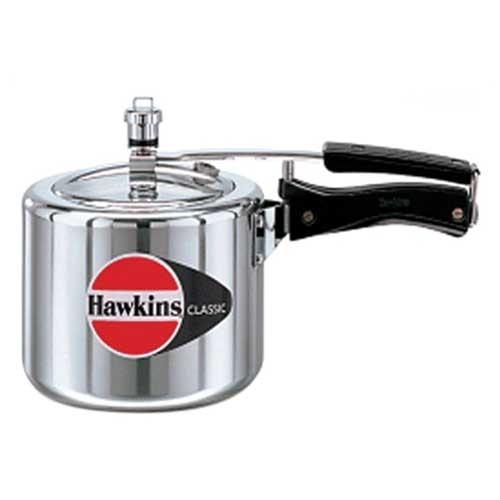 Hawkins Classic 3 Ltr Tall Aluminium Pressure Cooker