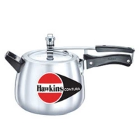 Hawkins Contura White 4 Ltr Aluminium Pressure Cooker