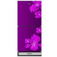 Konka KRT-180GBTMW-PURPLE SAKURA (2-Door, Upper Freezer, Glass Door) Refrigerator