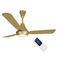 Luminous Underlight Silky Gold with Remote Ceiling Fan