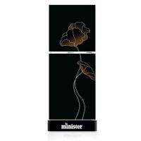 Minister M-195 BLACK LOTUS (MATCH) Refrigerator