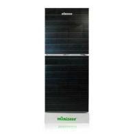 Minister M-222 BLACK Refrigerator