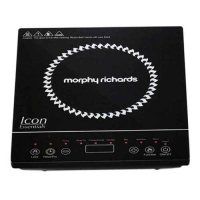 Morphy Richards Icon Essentials 1600 W Induction Cooker