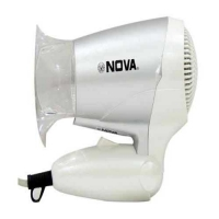 Nova Foldable NHD-2807 Hair Dryer