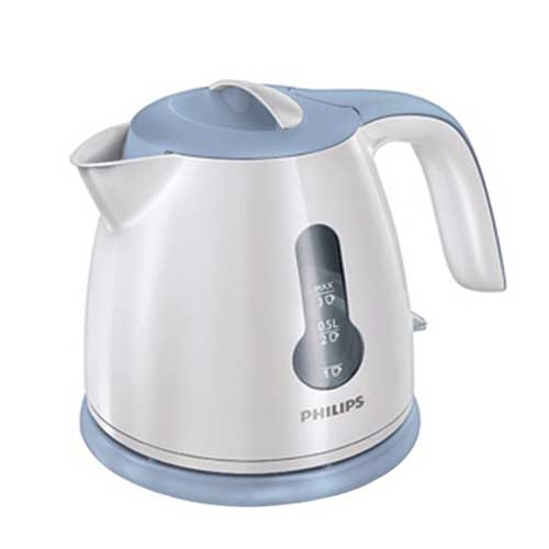 Philips 0.8 Ltr HD4608/70 Electric White Kettle