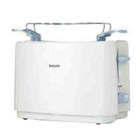 Philips HD4823/01 Pop Up Toaster