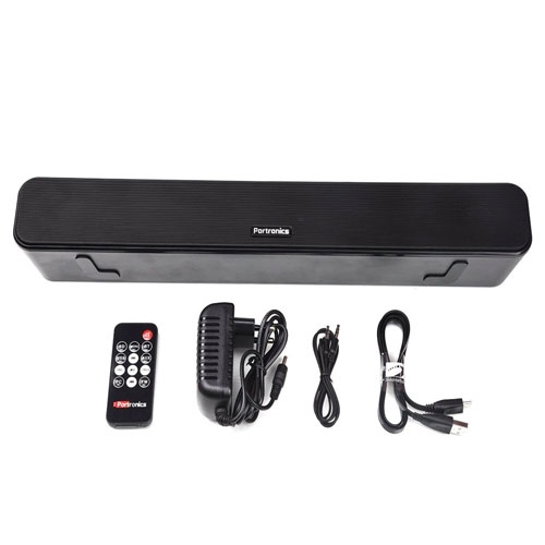 Portronics Pure Sound Bar 2 and Bluetooth Speaker