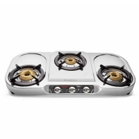 Preethi Topaz 3 Manual Gas Stove