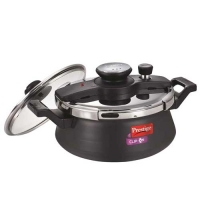 Prestige Clip-On Hard Anodised Pressure Cooker Handi- 5 Litre