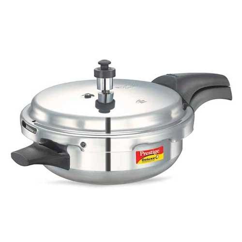 Prestige Deluxe Plus Aluminium 3.1 Litre Junior Pressure Cooker