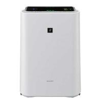 Sharp Air Purifier With Humidifier KC-D60E-W