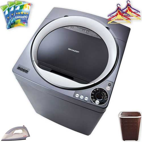Sharp Full Auto Washing Machine ES-S105DS-S Price & Full