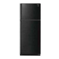 Sharp SJ P43MK3BK Refrigerator