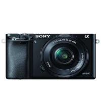 Sony Alpha A6000L 24.3MP Digital SLR Camera (Black)