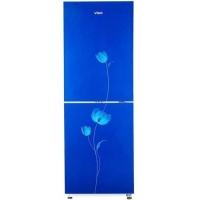 Vigo 210 Litre Blue Flower Refrigerator
