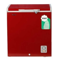 Vigo Chest Freezer 145 ltr Red
