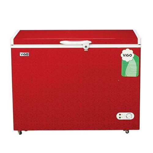 Vigo Chest Freezer 258ltr Red