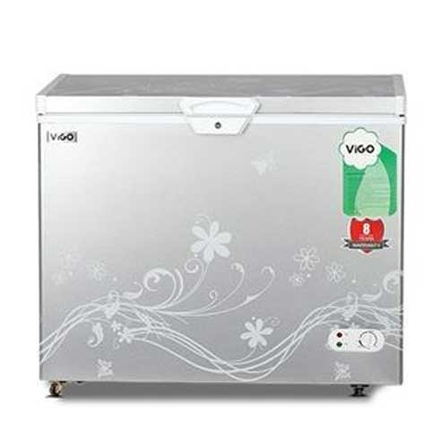 Vigo Chest Freezer 258ltr Silver