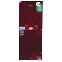 Vigo GD Refrigerator RE-252 L Red Flower-BM