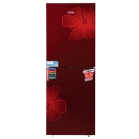 Vigo GD Refrigerator RE-262 L Red Blooming FL-TM