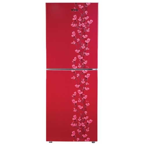 Vigo Refrigerator RE-238 L Red lily Flower-BM