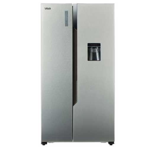 Vigo Side By Side Door Refrigerator SHR-566 Ltr