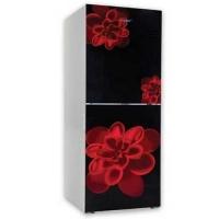 Vision GD Refrigerator Re-216l Red Rose Flower