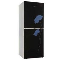 Vision GD Refrigerator RE-222 L Black Flower 2 TM