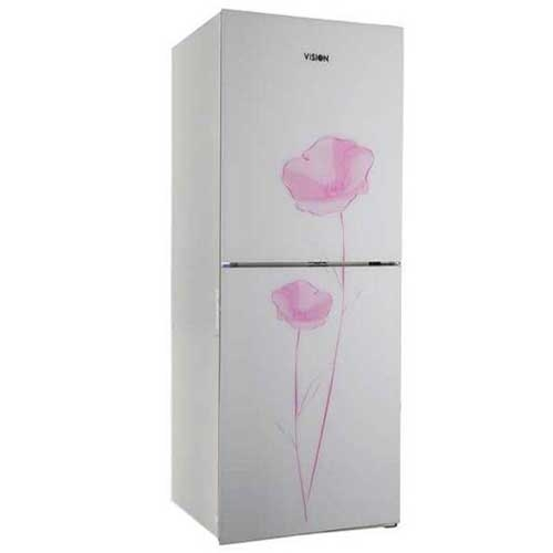 Vision GD Refrigerator RE-222 L White Flower TM