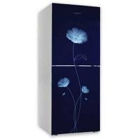 Vision GD Refrigerator Re-262 L Blue Peony FL-TM
