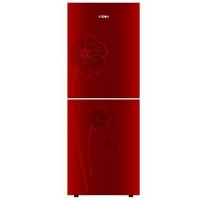 Vision GD Refrigerator Vis-205G Red Lucky Flower