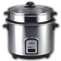 Vision Rice Cooker VSNRC-40-08 Silver 3L SS