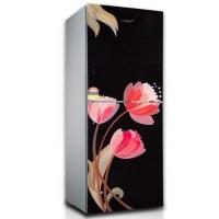 VSN GD Refrigerator RE-222 L PINK TULIP BLACK-TM