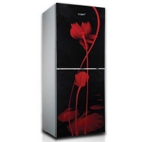 VSN GD Refrigerator RE 238L Red Water Lily BM