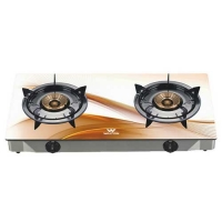 Walton WGS-3GNS1 (NG) Glass Top Double Burner