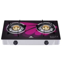 Walton WGS-GHT1 (NG) PURPLE WING Glass Top Double Burner