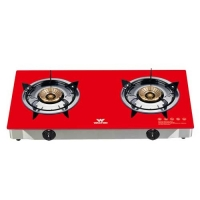Walton WGS-GNS2 (LPG) Glass Top Double Burner