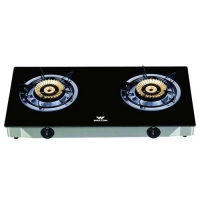 Walton WGS-GNSB1 (LPG) Glass Top Double Burner