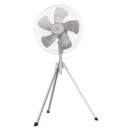 Walton WPF24A-PBC Tripod Gray Pedestal Fan